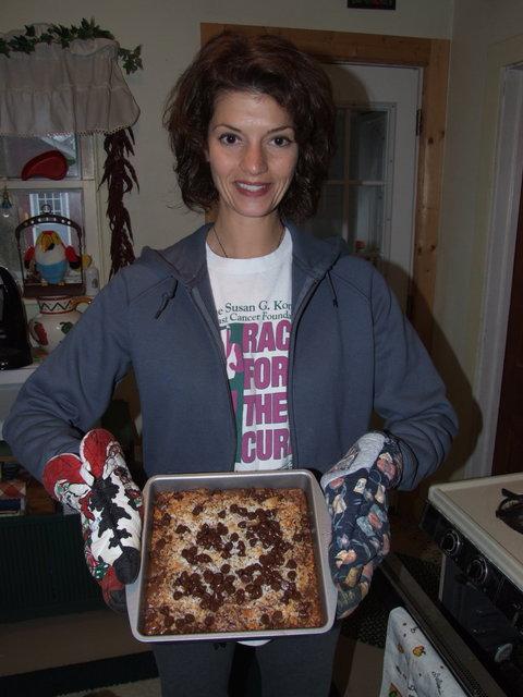 Mellen and her brownies