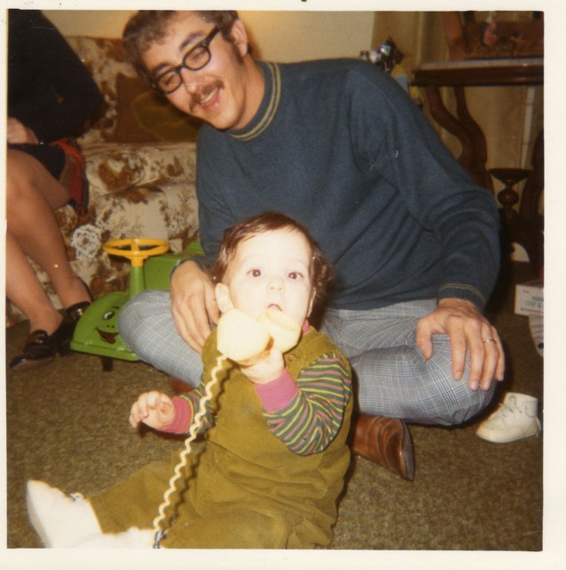 Dad and me