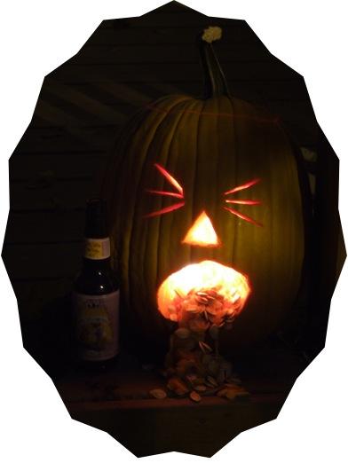 Puking Pumpkin Dark